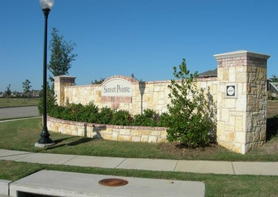"Sunset Pointe <br><p style=""font-size:14px"">Little Elm, Texas</p>"